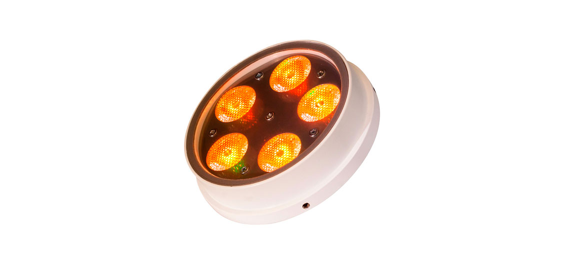 Chroma AR111 Orange Dimmable LED Downlights