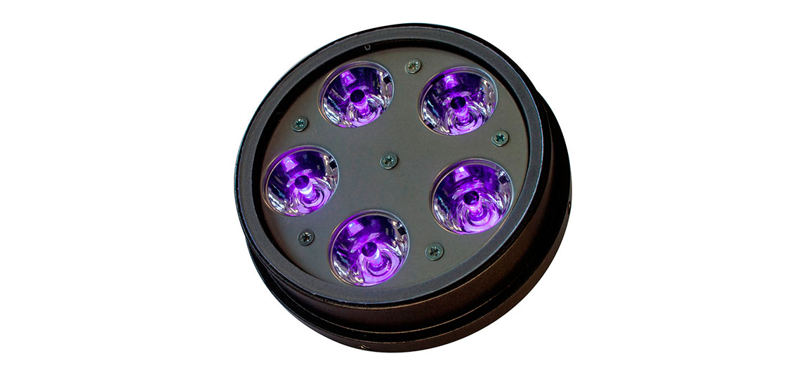 Chroma AR111 Purple Outdoor LED Spotlights