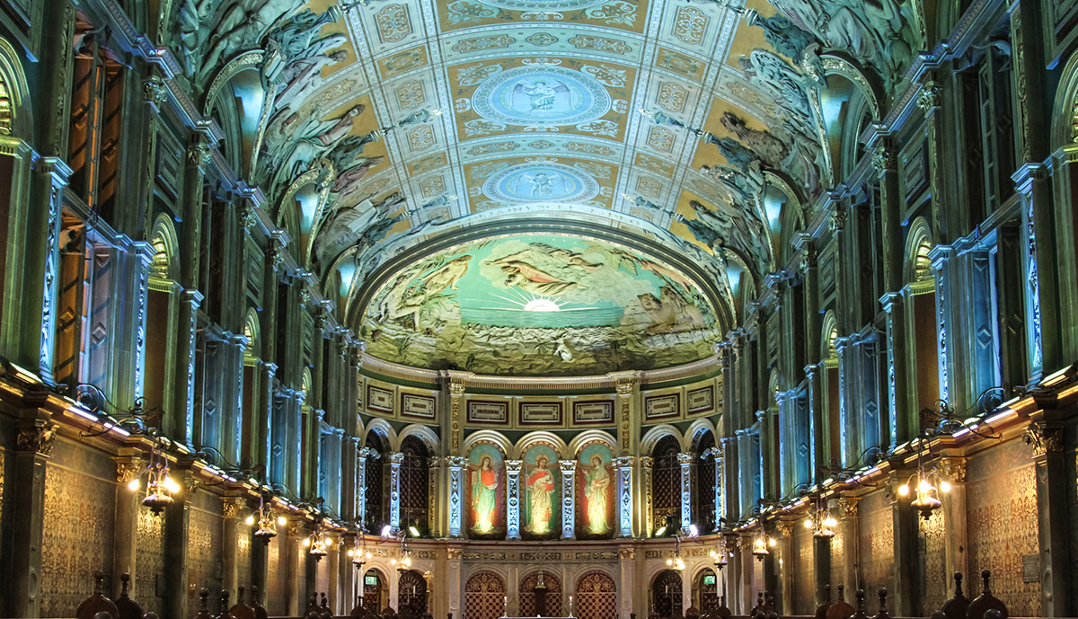 Royal Holloway Chapel Lighting