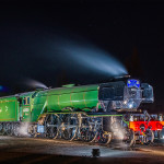 Flying Scotsman rests with Luxeos