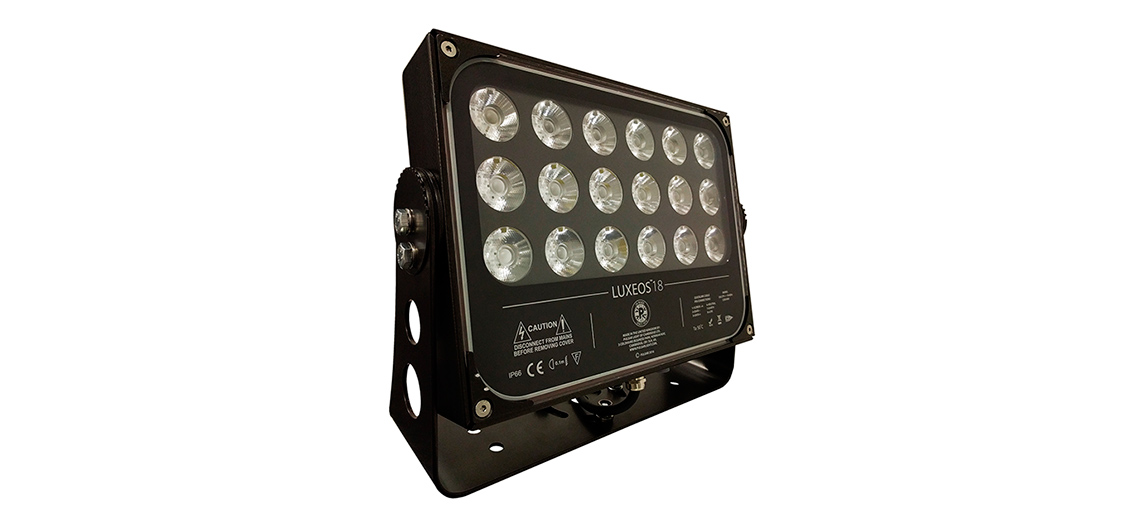 Luxeos 18 Outdoor LED Flood Lights RGBA Lights