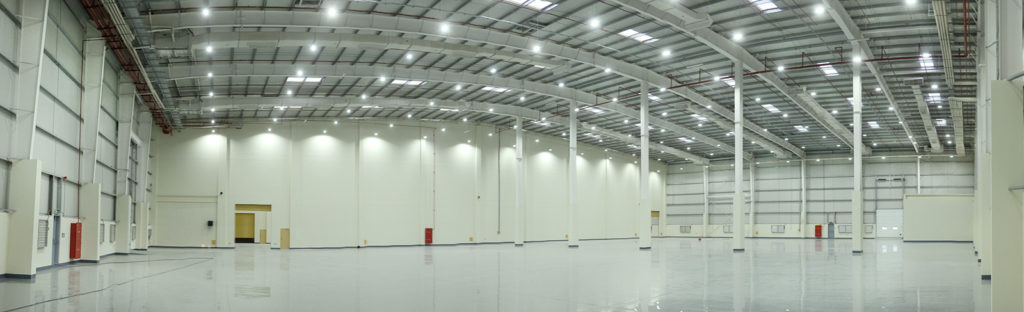 Schmidt Logistics Commercial Warehouse Lighting