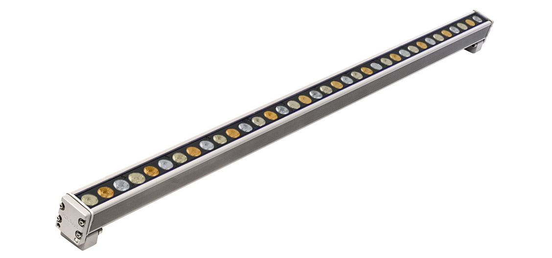 Luxeos Line Vibrant White Outdoor LED Strip Lights