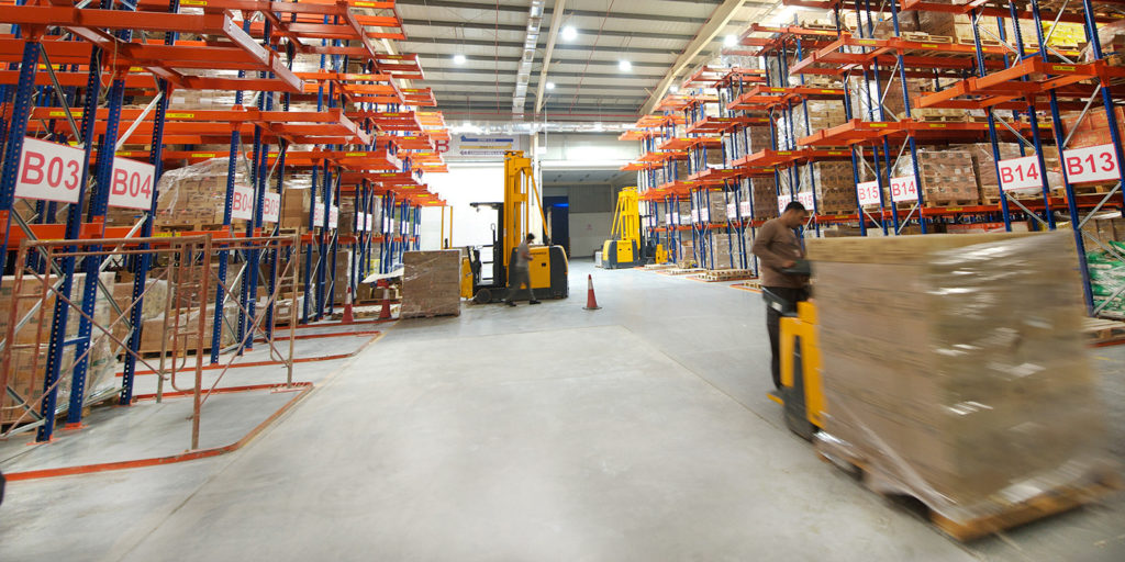 LED Warehouse Lighting Al Aujan Warehouses